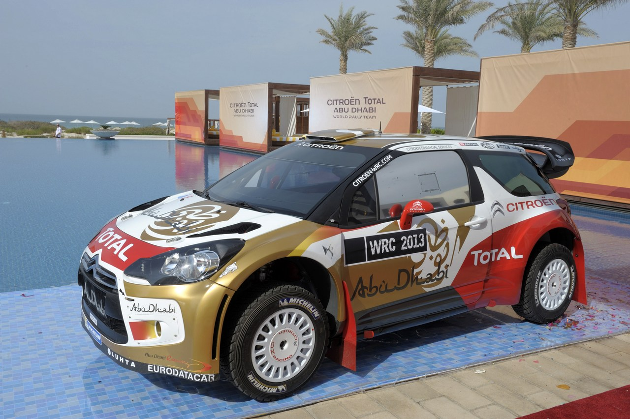 Abu Dhabi Citroen World Rally Team launch, Abu Dhabi 6 December