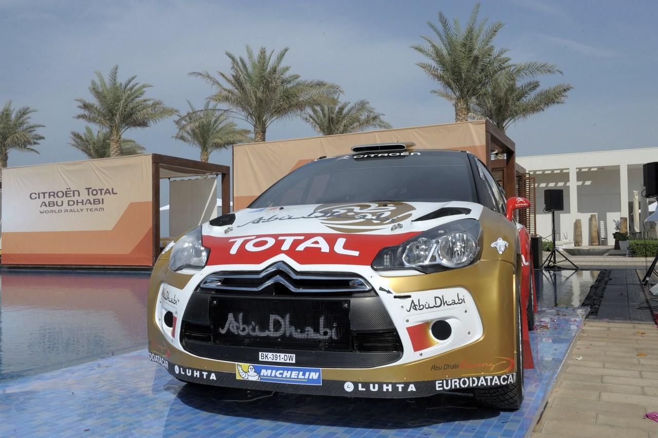 Abu Dhabi Citroen World Rally Team launch, Abu Dhabi 6 December