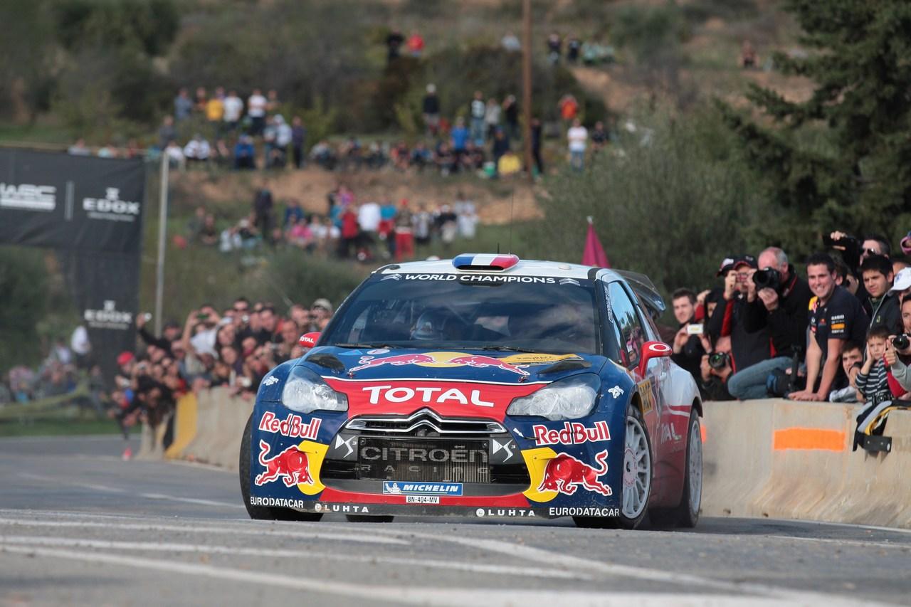 Rally Catalunya-Costa Daurada, Salou 8-11 10 2012