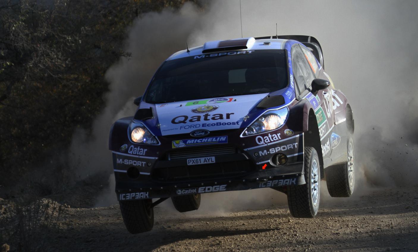 SS4 Las Minas en  WRC México 2013