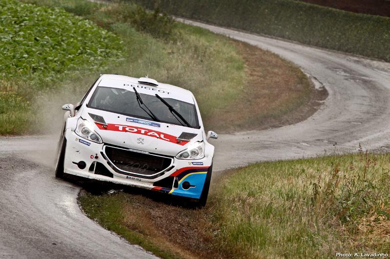 FIA EUROPEAN RALLY CHAMPIONSHIP 2013 -YPRES RALLY
