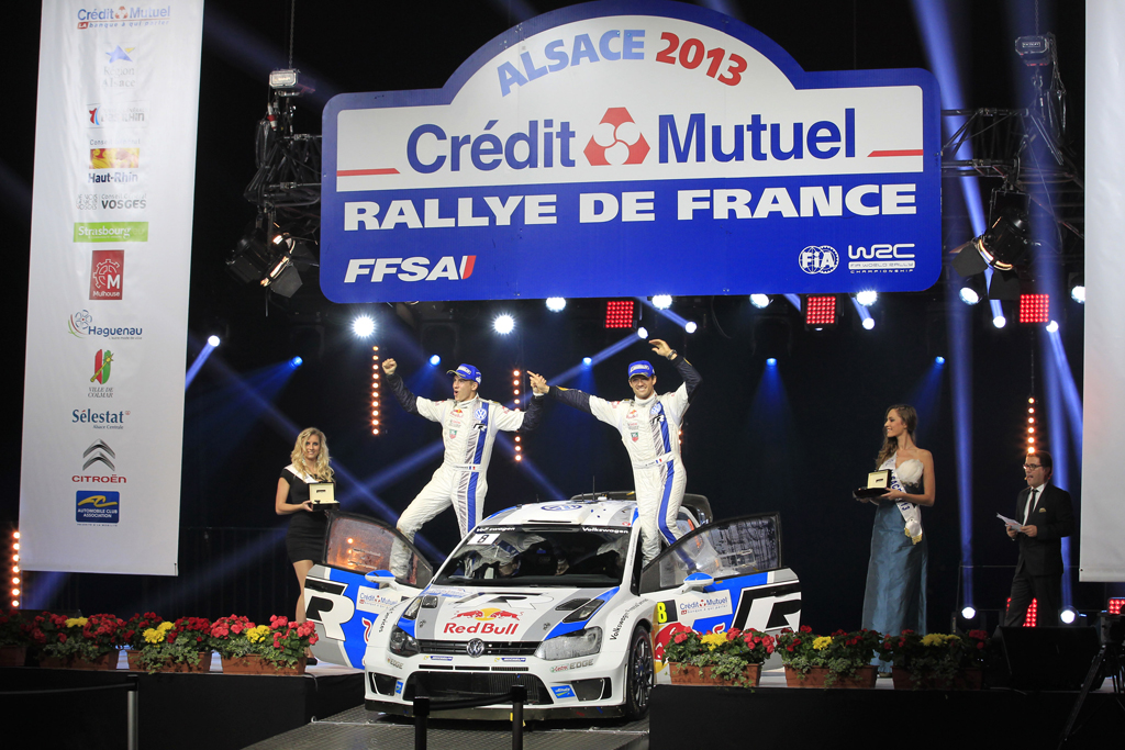 AUTOMOBILE: Rallye de France Alsace 2013 - WRC - 03/09/2013 to 06/09/2013