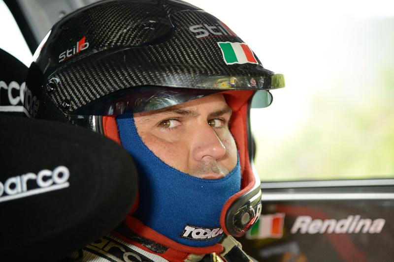 Massimiliano Rendina (Mitsubishi Lancer Evo X #24, Rally Project)