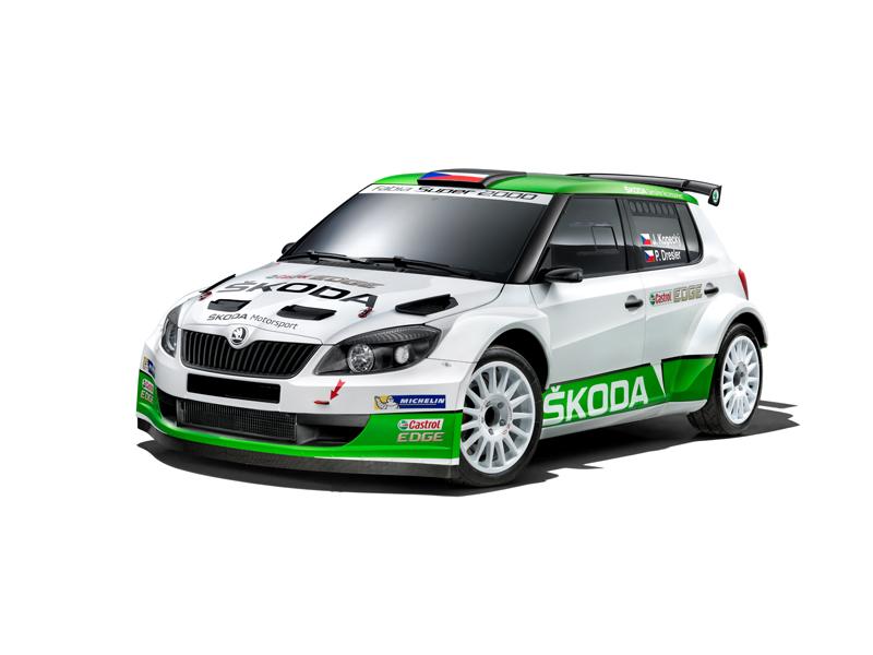 SKODA Motorsport Fabia S2000 5885
