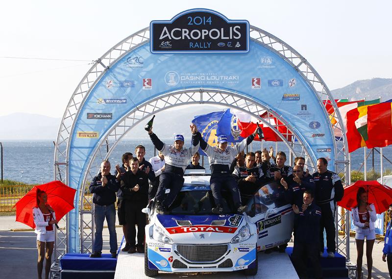 AUTO - ERC ACROPOLIS 2014