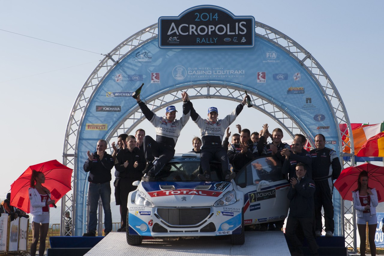ERC Acropolis Rally, Loutraki, Greece 28-30 March 2014
