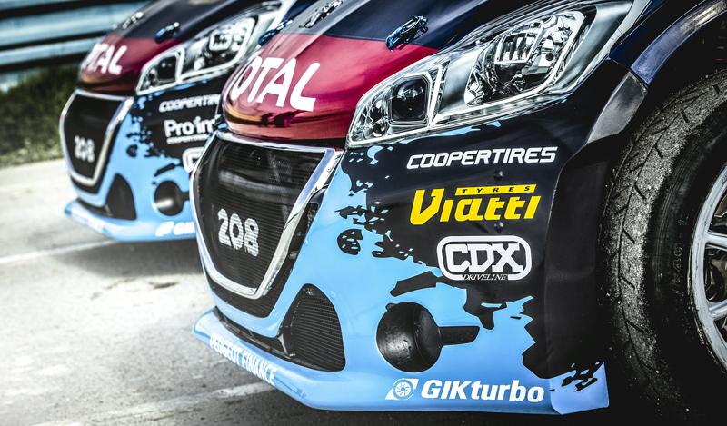 Rallycross Peugeot 208 T16 - Detail